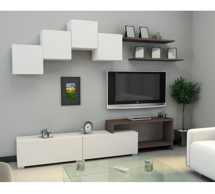 Modular Mueble Living Comedor Moderno Para Lcd/led Rack