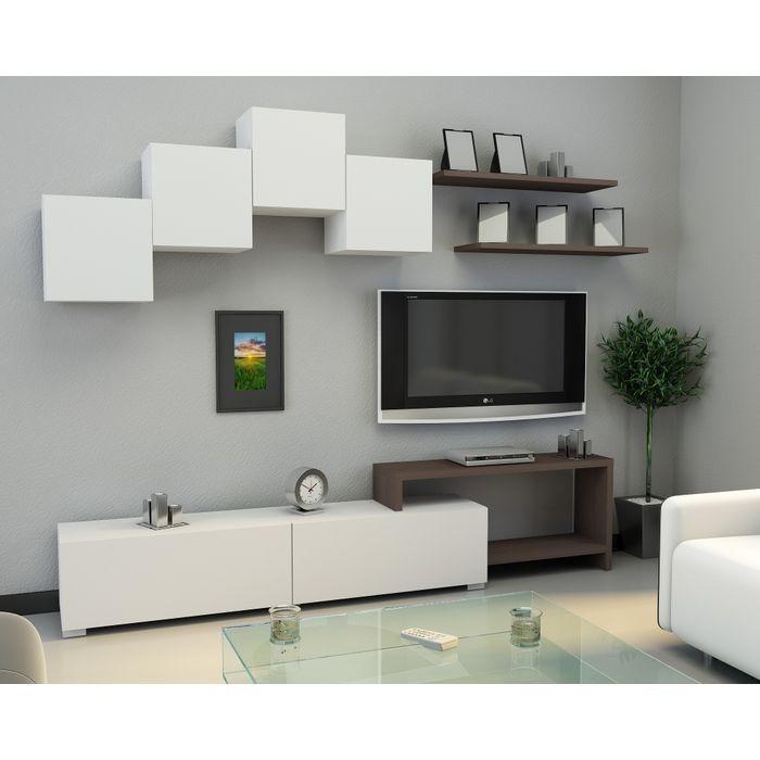 Modular Mueble Living Comedor Moderno Para Lcd/led Rack - $ 8.114,00 ...