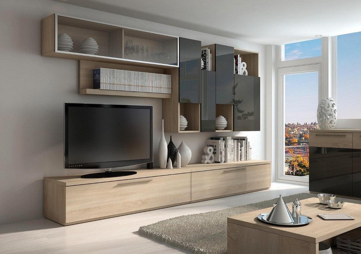 Modular Mueble Lcd Mesa Tv Vajillero Rack Megacell Mod Bgh 3  # Muebles Para Poner Xbox