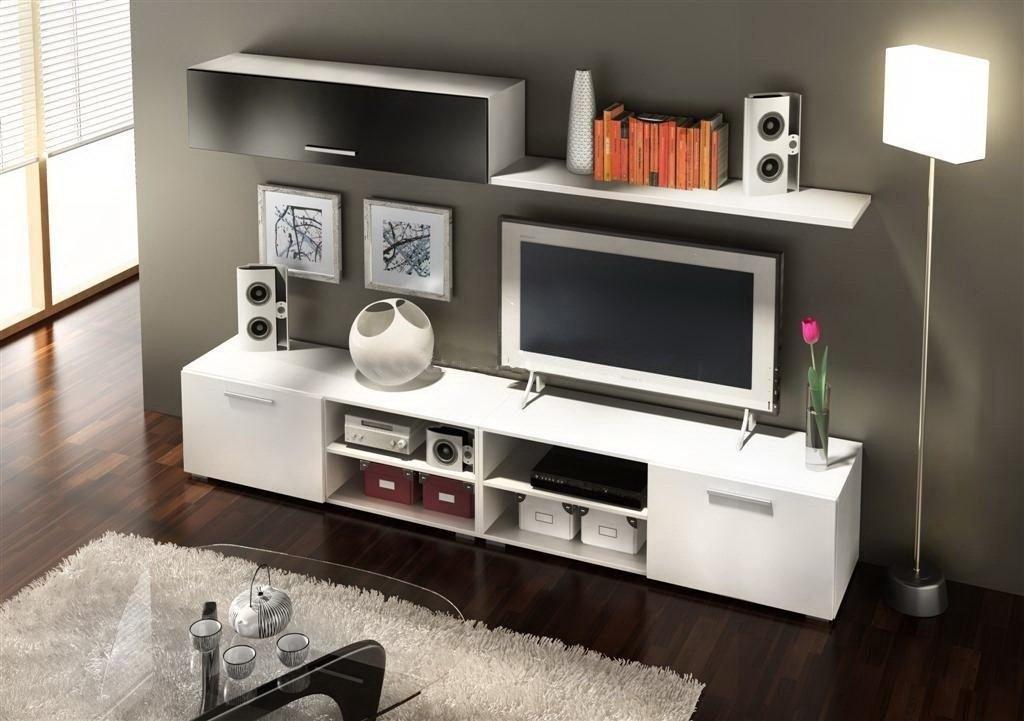 Modular Mueble Para Tv Moderno 1.60 Largo Total Hot Sale - $ 3.500 ...