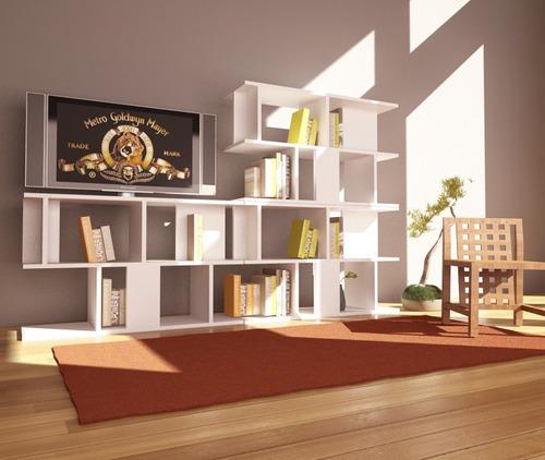 modular muebles biblioteca