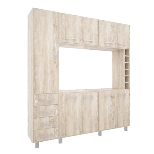 modular organizador 9p. 4c. bodega led55 aguirrezabala450510