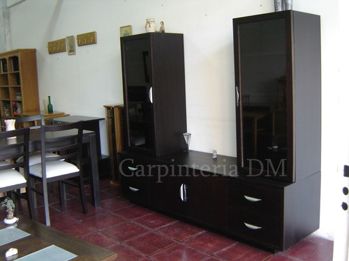 modular para tv 180cm roble /carpinteriadm