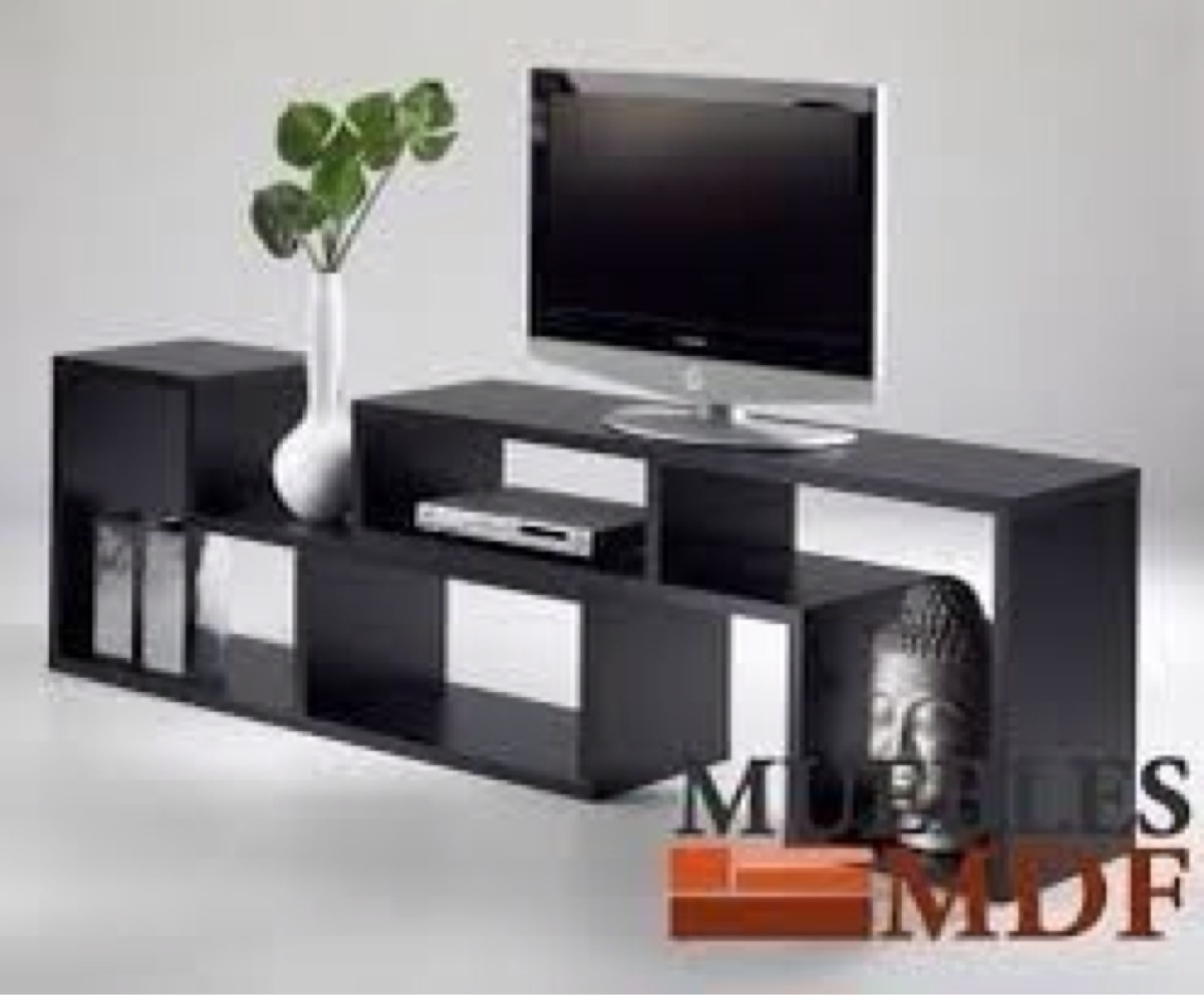 Modular para tv minimalista bs en mercado libre for Muebles modulares modernos para tv