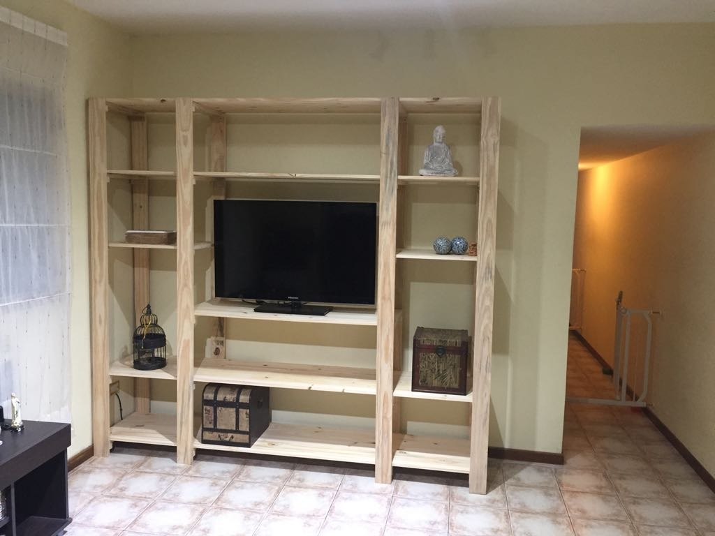 Modular Placar Estantería Rack Tv Comedor Cocina Dormitorio ...