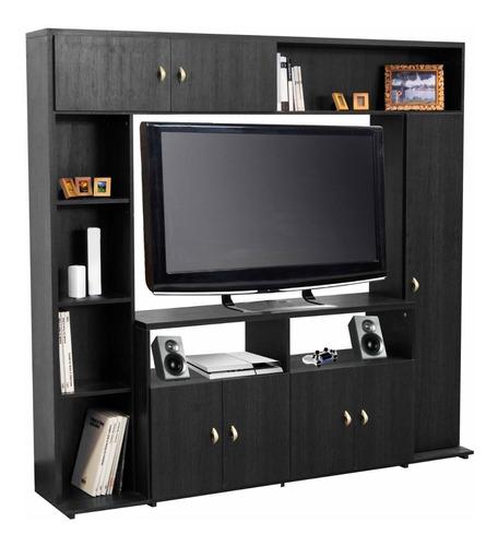 modular platinum 5570 amplio espacio para tv lcd 50` kromo-s