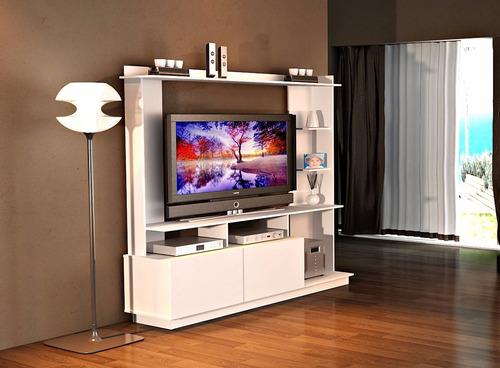 modular rack centro de entretenimiento led tv mesa g903/8
