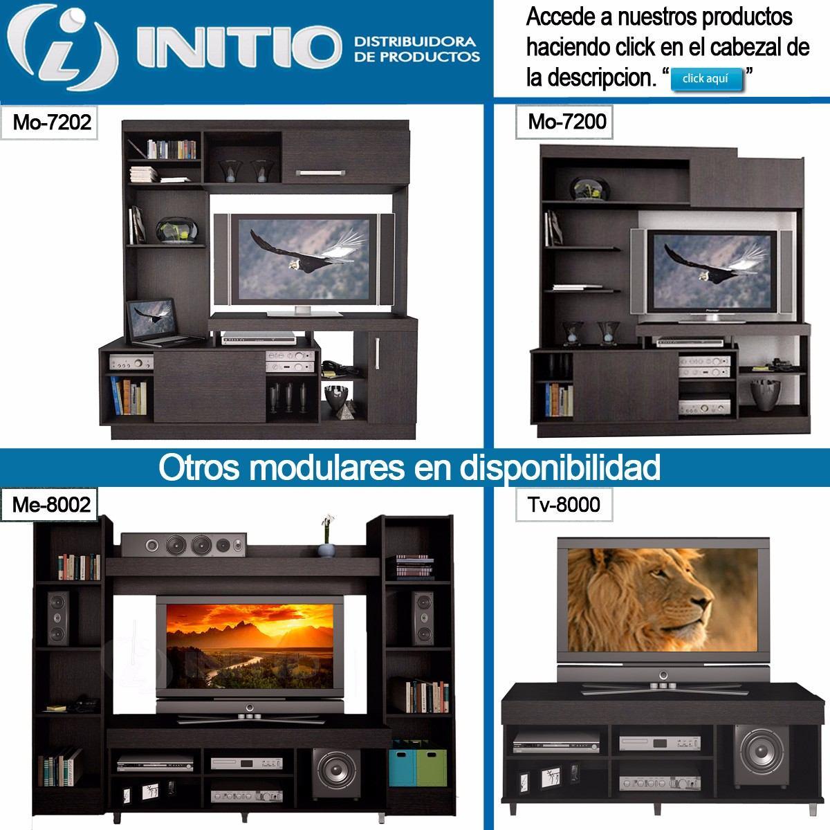 Modular Rack Mesa Tv Lcd Led Mueble 42 47 50 Fiplasto 7202  # Muebles Fiplasto