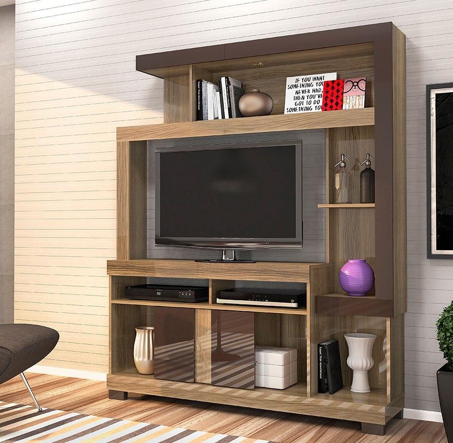 Modular Rack Organizador Para Tv Led Liz 150 Cm 4 399 00 En  # Muebles Liz Garantia