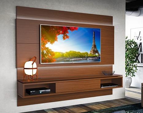 modular rack tv led hasta 60 mueble home 2.2 lincoln mdf