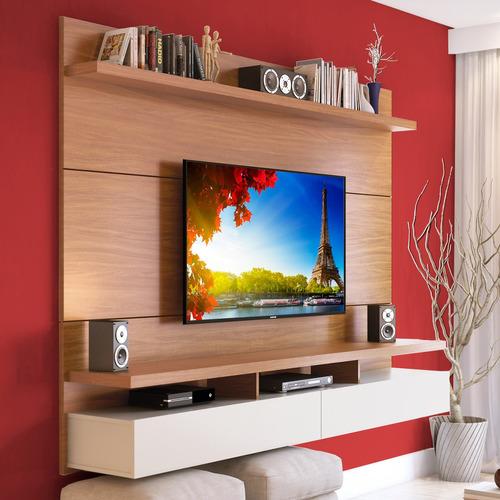 modular rack tv led lcd hasta 60 pulg  pared 1.8 city cuotas