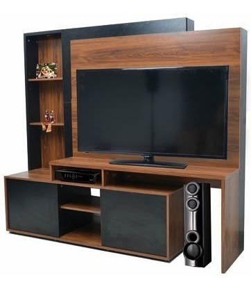 modular rack tv led lcd platinum 5580 60´´ melamina cuotas