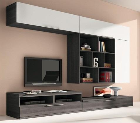 modular tv  lcd vajillero organizador moderno - muebles duo