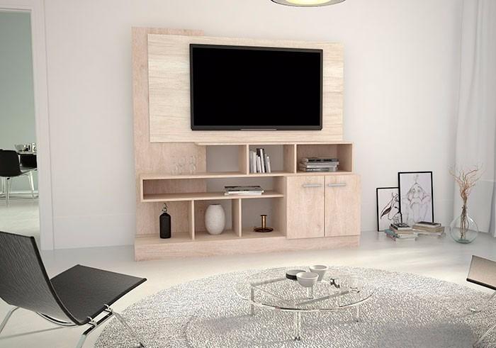 Modular Tv Led Hasta 55 Roble Línea Nórdica Fiplasto - $ 7.261,36 en ...