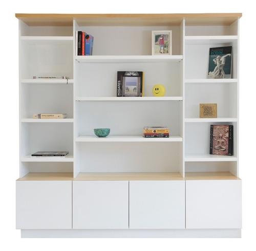 modular vajillero biblioteca diseño nordico forbidan muebles