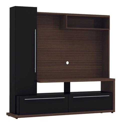 modular vajillero lcd rack mueble tv moderno chloe la font