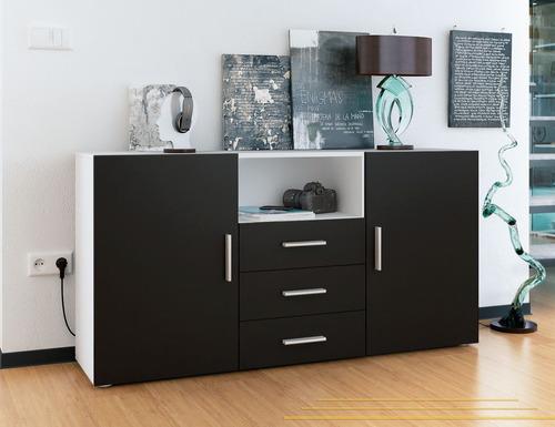 modular vajillero mueble lcd organizador -  muebles duo