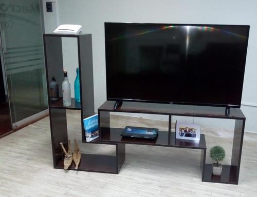 Modulares Para Tv Hechos En Melamina - S/ 250,00 en Mercado Libre