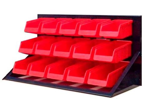 modulo 15 cajones plastico ordenador taller mecanico gaveter