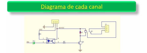 módulo 2 relevadores optoacoplador p/ arduino, pic, mcu