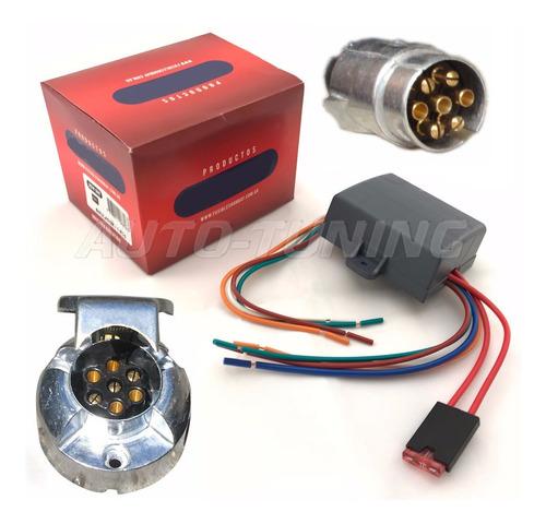 modulo 5 vias multiplexado + conector de 7 vias metalico