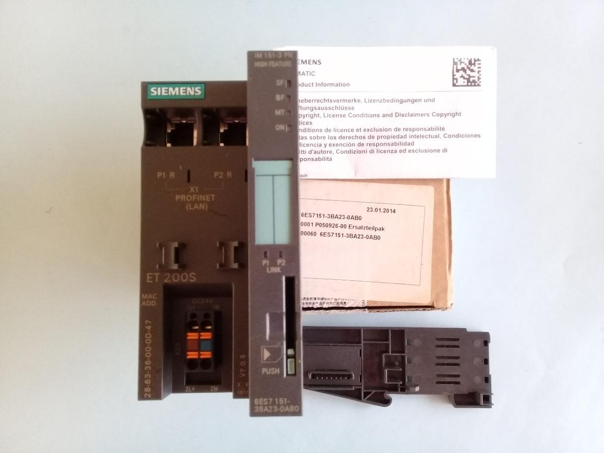 Modulo 6es7 151 3ba23 0ab0 Im153 Siemens Plc S7300 Smart