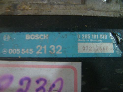 modulo abs mercedes c 230 0265101018 - 0055452132