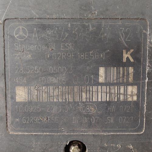 módulo abs mercedes classe c c200 / clc / clk a0375454732