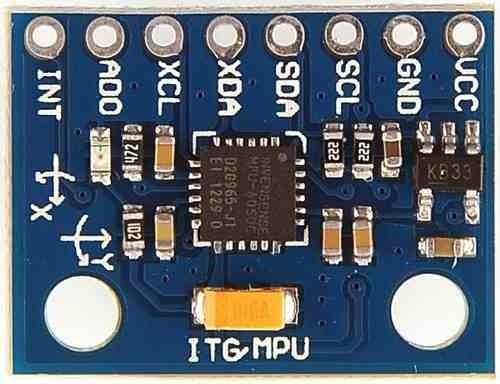 modulo acelerometro giroscopo mpu6050 6 ejes arduino