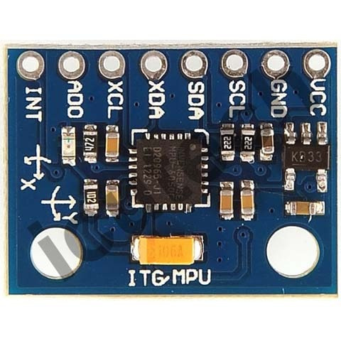 modulo acelerómetro giróscopo mpu6050 9 ejes