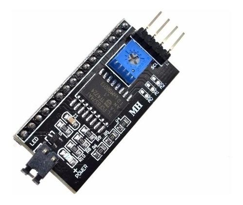 módulo adaptador i2c conversor para lcd 1602 ou 2004 arduino