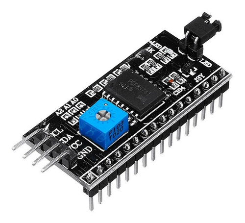 módulo adaptador i2c para display lcd arduino