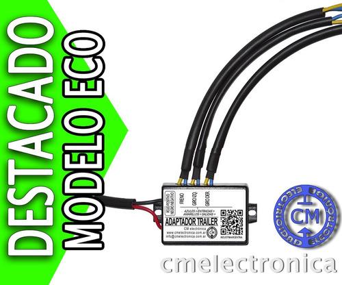 módulo adaptador luces para trailer - modelo-t12-3-70 (eco)