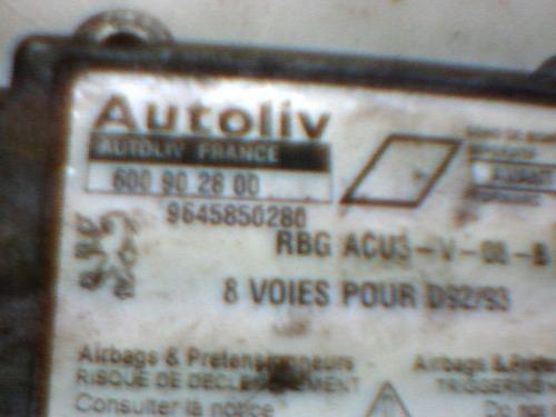 modulo air bag peugueot 406 #part 600 90 28 00