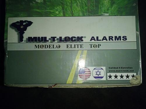 modulo alarma multlock mul- t- lock sin control