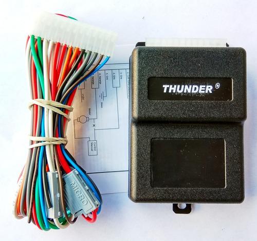 modulo alzavidrios para 2 vidrios thunder