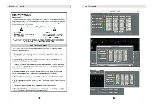 modulo amplificado clase d 3200 wrms para line array