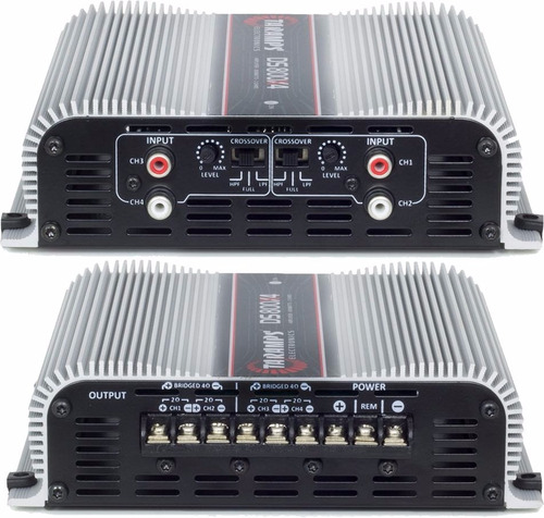 modúlo  amplificado taramps ds800x4 800 w - 4 canais full