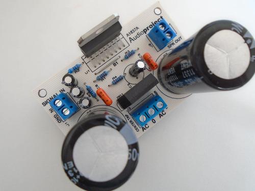 modulo amplificador 100 watts tda7294 c/fuente- audioproject