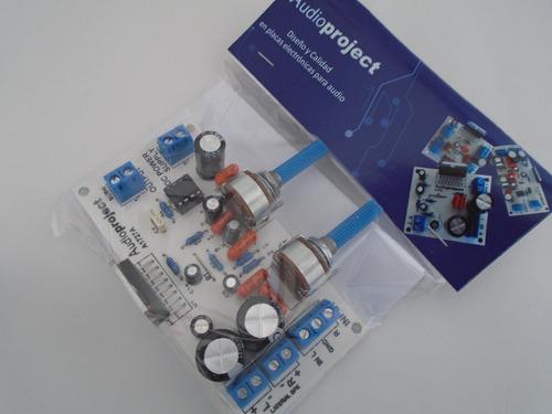 modulo amplificador 2.1 6+6+20 watts con vol - audioproject