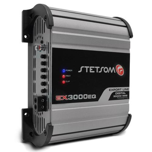 módulo amplificador 3000 stetsom 3000w
