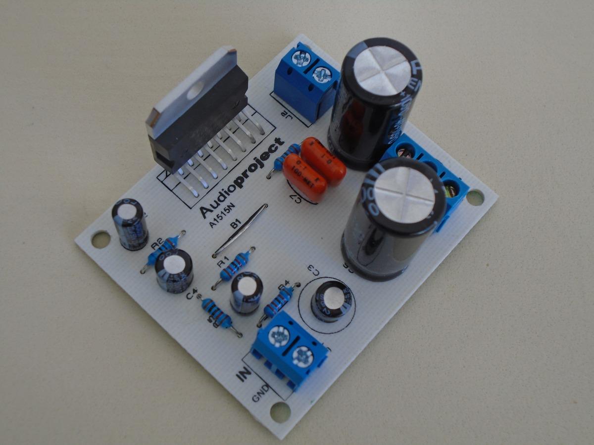 Modulo Amplificador 60 W Reales Rms C Tda7296 Audioproject 559 80w Audio Amplifier Based On Tda7295 Circuit Diagram Cargando Zoom