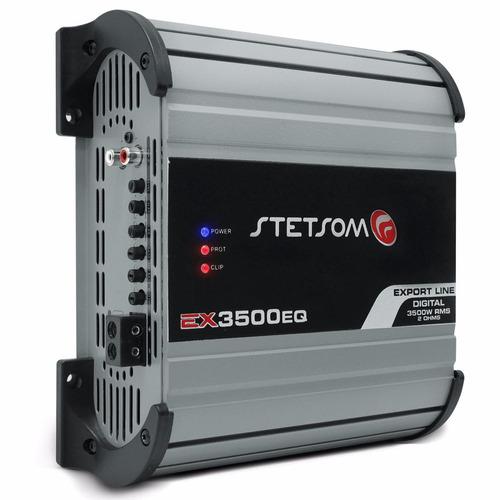 módulo amplificador alta performance stetsom ex3500 eq