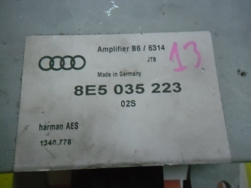 modulo amplificador audi a4 2005 (8e5 035 223) pr