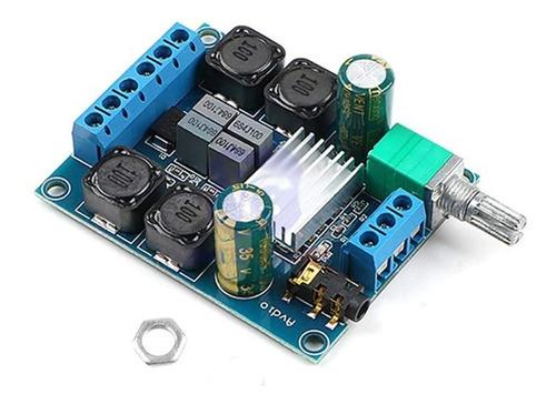 modulo amplificador audio 50wx2 tpa3116 50+50w stereo 12-24v