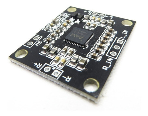 modulo amplificador audio clase d pam8610 2x10w 6v a 15v