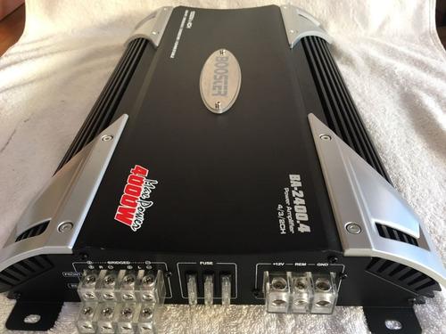 módulo amplificador automotivo booster