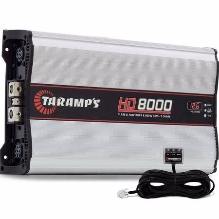 modulo amplificador automotivo taramps hd 8000 1 ohm