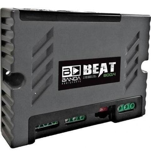 módulo amplificador banda beat 800.4 800 rms - bridge 4 ohms