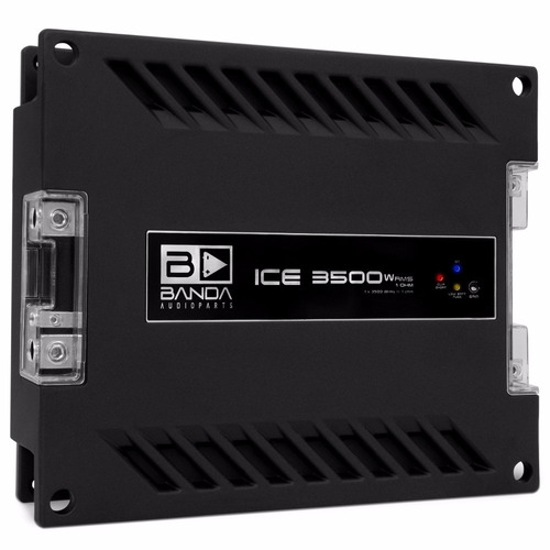 módulo amplificador banda ice 3500 3500w rms 1 ohm mono